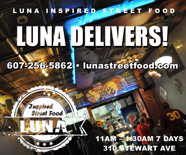 Luna Delivers! Open 7 Days.