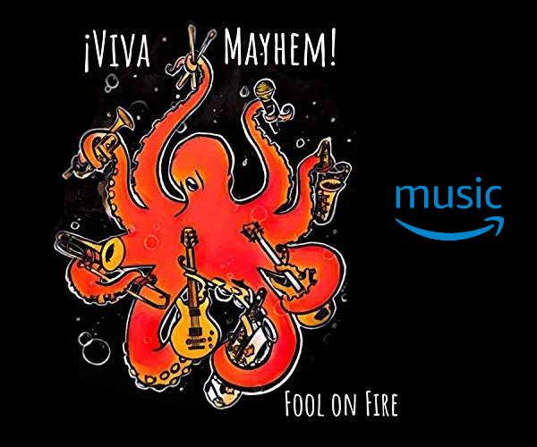 Viva Mayhem Fool on Fire on Amazon MP3!