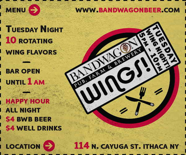 Bandwagon Wing Night Tuesdays