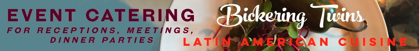 Bickering Twins Catering - Latin American Cuisine