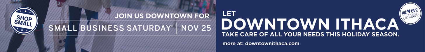 Join us Downtown for Small Business Saturday Nov 25