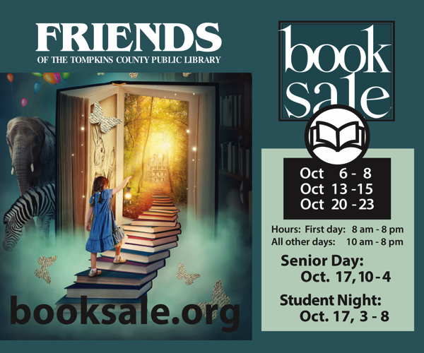 Friends of the Library Fall Book Sale through Oct 23