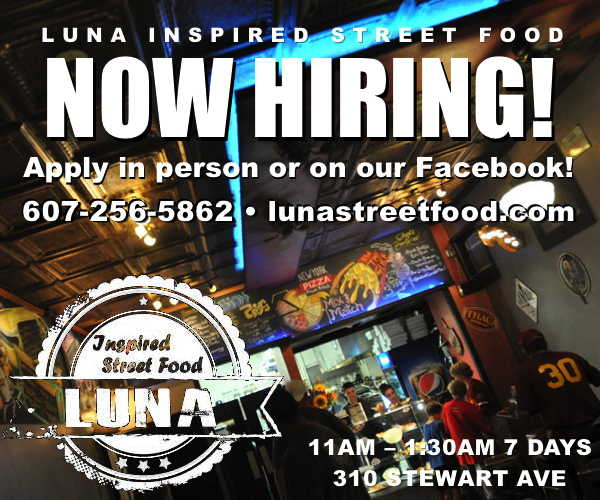 Luna Inspired Street Food is hiring!