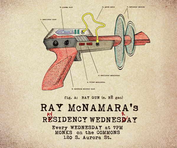 Ray McNamara's Wednesday Monks Residency