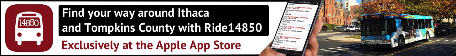 Ride14850 - iOS app for TCAT schedules!