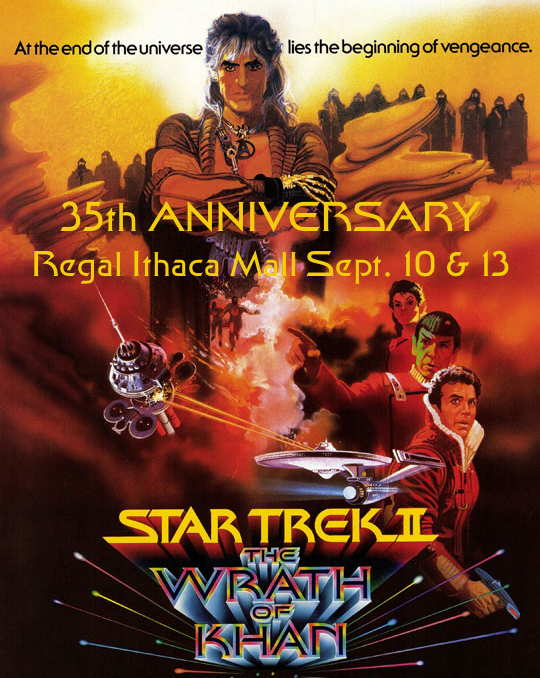 Get tickets to Star Trek: The Wrath of Khan 35th Anniversary on Fandango.