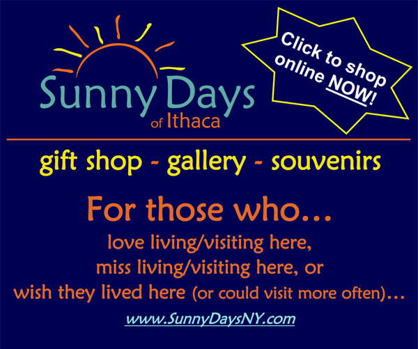 Sunny Days: For those who Love Ithaca