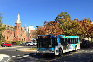 A large portion of TCAT's ridership includes Cornell and Ithaca College staff and students.