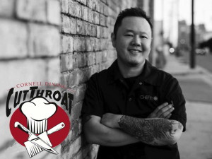 Chef Jet Tila is the celebrity emcee at Cornell Dining's Cutthroat competition. Photo provided.