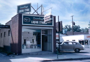Crowley's Liquor Store opened on South Cayuga Street in 1941.