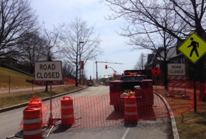 East Avenue will be closed through May 8. 14850 file photo.
