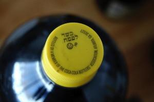 Kosher for Passover Coca-Cola. 14850 Photo.