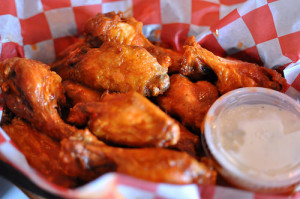 Best value wings at the Scale House.