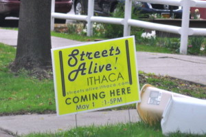 Streets Alive, this Sunday afternoon in Fall Creek and Downtown.