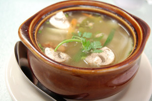 Tamarind's fish soup.