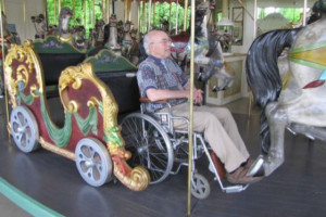 Fundraising this spring will make the Stewart Park carousel wheelchair-friendly. Photo courtesy of Friends of Stewart Park.