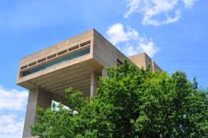 Cornell's Johnson Museum will be the scene of Saturday's protest. 14850 file photo.