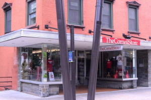 The Cornell Store on the Ithaca Commons opens Thursday. 14850 Photo.
