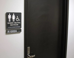 A gender-neutral restroom. Photo by Jeffrey Beall used under Creative Commons license.