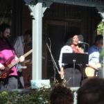 Stone Cold Miracle performing at Porchfest. 14850 file photo.
