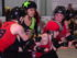 Ithaca SufferJets hosted the Lansing Derby Vixens from Michigan in Cortland last month. 14850 Photo by Mark H. Anbinder.