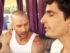 "Dan ""Rising Sun"" Lisbe and Colin Smith in the new Gunpoets video."