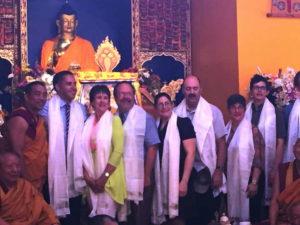 A celebration of the Dalai Lama's 81st birthday last week. Photo courtesy of Tom Hanna.