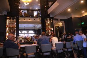 The inviting bar at Simeon's.