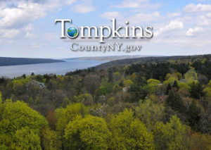 Tompkins County lake view