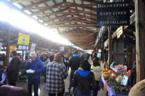 You may need to bundle up, but the Ithaca Farmers Market is worth a visit in late fall! 14850 file photo.