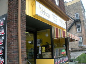The Shop in Downtown Ithaca.
