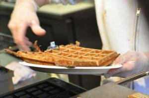Waffles at Waffle Frolic! 14850 file photo.