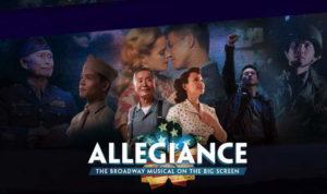 Allegiance is in theatres tonight