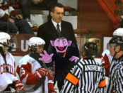 Four! Four Big Red hockey games this weekend!