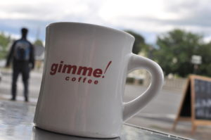 Gimme! Coffee mug