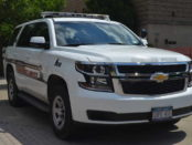 Cornell Police CUPD vehicle.