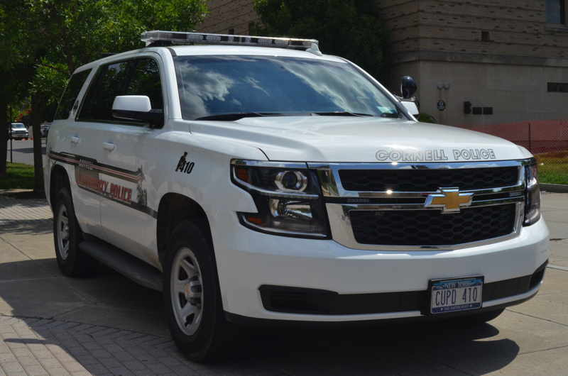 Ford van stolen from construction site, says Cornell Police