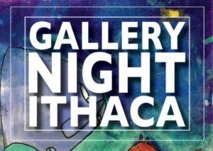Gallery Night Ithaca logo