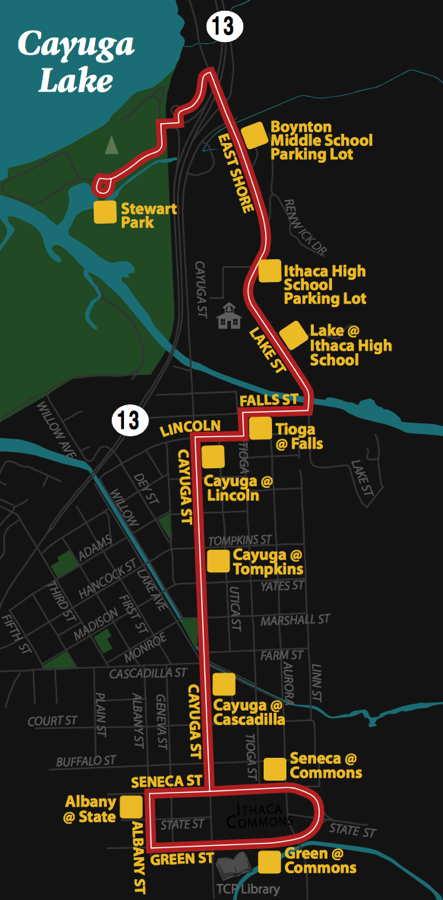 Take A Free Tcat Bus To Ithaca Reggae Fest This Saturday